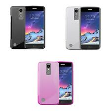 LG K8 2017 S-LINE SILICONE GEL COVER CASE FROM GADGET BOXX