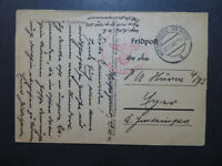 Germany 1941 Feldpost Card / Wiesengrund CDS / Sm Edge Tear - Z10101