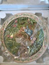 Davenport Pottery 3-D Collector Plates - Tale of Tom Kitten