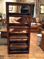 A Rustic/Traditional Display unit for shoes/books/ornaments
