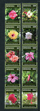 Micronesia 2015 MNH Hibiscus of Micronesia Definitives 14v Set Flowers Flora