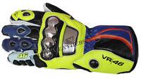Motorcycle Leather Gloves- New EV Design.