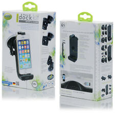 iGrip DOCK KIT Passiv / Aktiv iPhone  5C, 5S, 5, 4, 4S 3, 3G, 3GS, iPod Touch 4