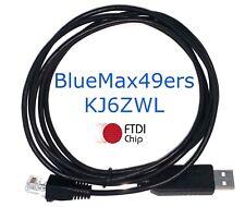 FTDI USB Programming Cable Icom IC-F520 IC-F521 IC-F620 IC-F621 OPC-1122