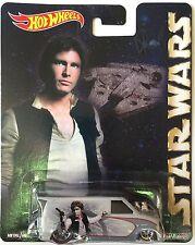 2015 Hot Wheels Pop Culture Star Wars Han Solo 1985 Chevy Astro Van Real Riders