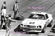 Ronnie Peterson Chevrolet Camaro IROC Series 1975 Photograph