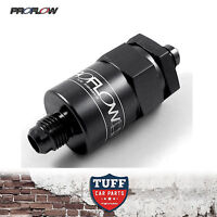 Proflow Competition Billet Reusable Fuel Filter 30 Micron Black -8AN -8 AN New