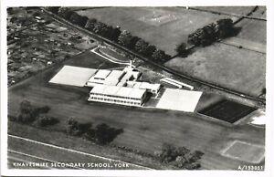 York. Knavesmire Secondary School # A/153051 by Aerofilms. Aerial View.