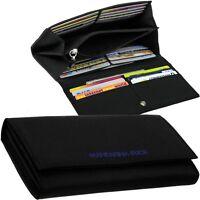 MANDARINA DUCK, Stoff Damen-Brieftasche, 22 Kartenfächer, Portemonnaie Geldbörse