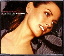 SHANIA TWAIN Man I Feel Like A Woman GERMAN 4TRACK! CD