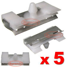 BMW E38 7 Series FRONT WINDSCREEN SIDE TRIM MOULDING STRIP CLIPS FIXINGS