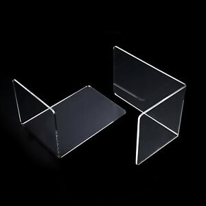 2 Pcs Heavy Duty Metal Bookends Book Ends Home/Office Stationery Supplies Set