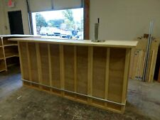 Home Bar Furniture, 72x24x42, Keg Tap, Drip Plate, Seats 3, S&H Incl
