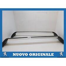 BARRE PORTATUTTO PORTAPACCHI STEEL TRANSVERSE ROOF BARS ORIGINALE PEUGEOT 407