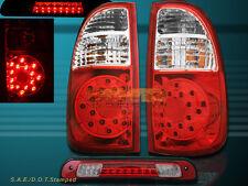 2005 06 Toyota Tundra ACCESS Cab SR5 LED Tail Lights NEW & 3rd Brake Light RED