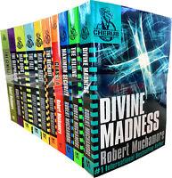Robert Muchamore Cherub Series 10 Books Collection Set Class A, Divine Madness,