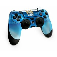 Manchester Man City FC PlayStation 4 Ps4 Sky Blue Controller Pad Skin Etihad Sta