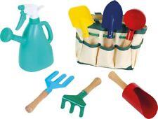 Herramientas Jardin para niños. Herramientas para niños de metal y madera. Bolso