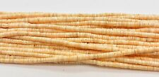 Melon Shell Heishi Beads  24 Inches Strand 2-3 mm