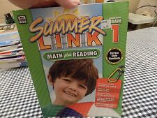Thinking Kids Summer Link Math Plus Reading Grade 1