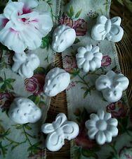 50 gessetti profumati in polvere di ceramica segnaposto bomboniera cm.3