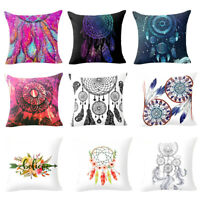 COLORFUL DREAM CATCHER PILLOW CASE HOME SOFA DECORATION CUSHION COVER SMART