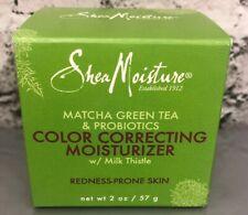 SheaMoisture Matcha Green Tea & Probiotics Color Correcting Moisture 2 Oz