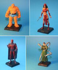 4 lead figurines - Marvel Comics Classic Eaglemoss