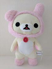 "Brand New San X Rilakkuma Korilakkuma 18"" Pink Bunny Ear Plush doll"