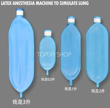 1pc New Latex Analog lung Breathe bag 2L For Ventilator  Anesthesia Machine