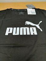 Puma Ladies Size 12 Black T Shirt New With Tags Ref K10