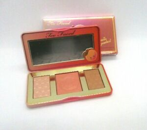 Too Faced Sweet Peach Glow ~ Peach Infused Highlighting Palette ~ BNIB