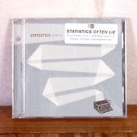 RARE HYPE PROMO Statistics Often Lie CD Album Jade Tree Playgraded M-
