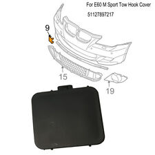 Front Bumper Tow Eye Hook Cover Cap For BMW Genuine E60 5 seires M Sport Trim