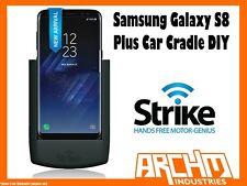 STRIKE ALPHA SAMSUNG GALAXY S8 PLUS CAR CRADLE DIY - BUILT-IN CHARGER SECURE