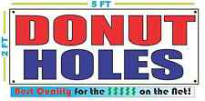 DONUT HOLES Banner Sign NEW Red & Blue