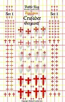 Official Fireforge Decals with Battle Damage Knights of the Holy Sepulchre