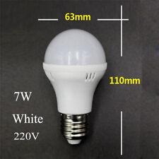 3W 12W E27 Warm Cool White LED Lights Lamps Globe Bulb Energy Saving 220V 110V