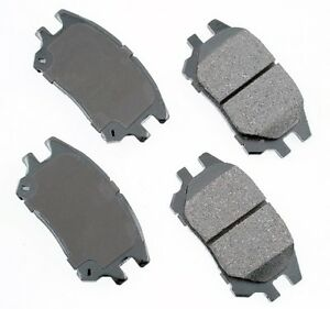 For Lexus RX300 2002-2003 Front Ceramic Disc Brake Pads Akebono ProACT ACT930