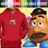 Unisex Mens Pullover Hoodie Sweater Toy Story 2 3 Movie Mr. Potato Disney Pixar