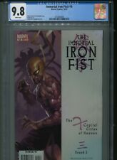 Immortal Iron Fist 10 CGC 9.8 Jelena Kevic-Djurdjevic Cover New Holder Avengers