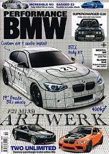 PERFORMANCE BMW Magazine October 2015 BUILD F21 M135i Supercharged M3 E30 @New@