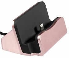 Dockingstation USB Ladestation Ladegerät für iPhone 5S 5C 6 Plus 6S 7 Daten Sync