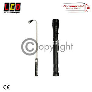 LED AUTOLAMP EXTENDABLE LED TORCH WITH MAGNETIC PICK-UP HEAD