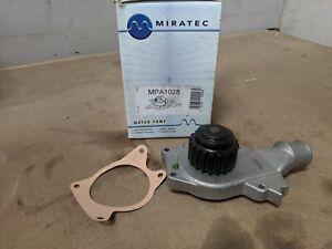 MIRATEC WATER PUMP MPA1028 FITS FORD ESCORT FIESTA SIERRA MORGAN 4/4 RELIANT