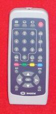 Original Genuine Sagem TV Remote Control