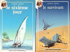 ANDREE CHEDID LE SURVIVANT + LE SIXIEME JOUR + PARIS POSTER GUIDE