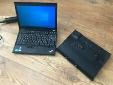 Lenovo Thinkpad X220 Ordinateur Portable avec chargeur Core i5 4 Go RAM 120 Go SSD + 500 Go HDD