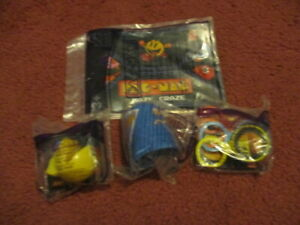 2011 Wendys Pac-Man Party Toys Pull Back Tag Game Maze Game PICK ONE