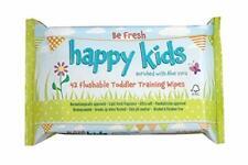 4 x Be Fresh Happy Kids 42 Training Wipes Flushable